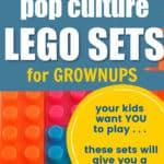 pop culture lego sets