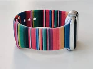 multicolor serape apple watch band
