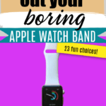 boring apple watch band