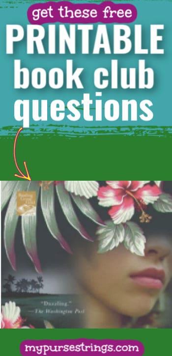 free printable book club questions for book moloka'i