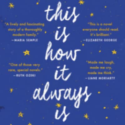 virtual book club selection this is how it always is