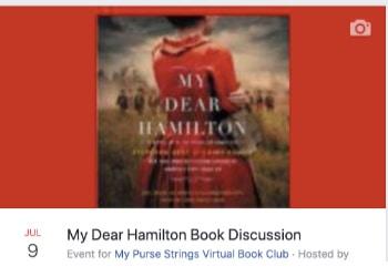 my dear hamilton book discussion event