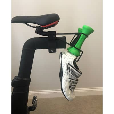hang peloton shoes seat