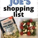 healthy trader joe's shopping list
