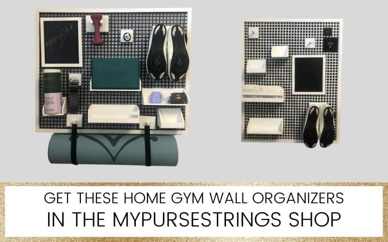 home gym organizer
