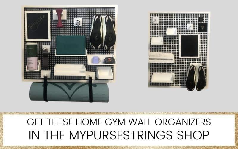 home gym organizer