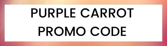 purple carrot promo code