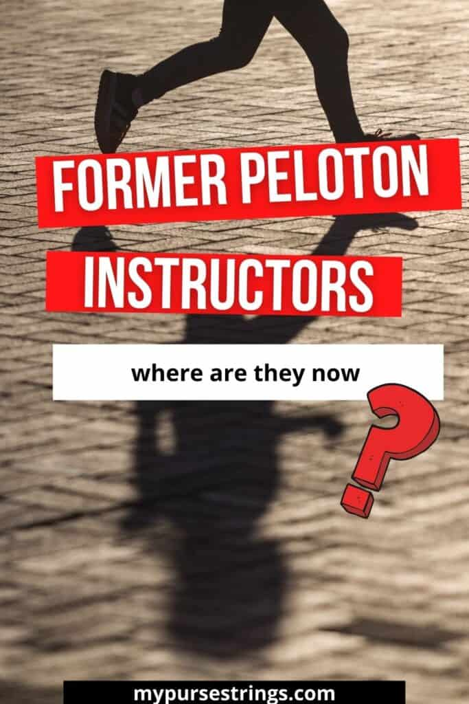 former peloton instructors