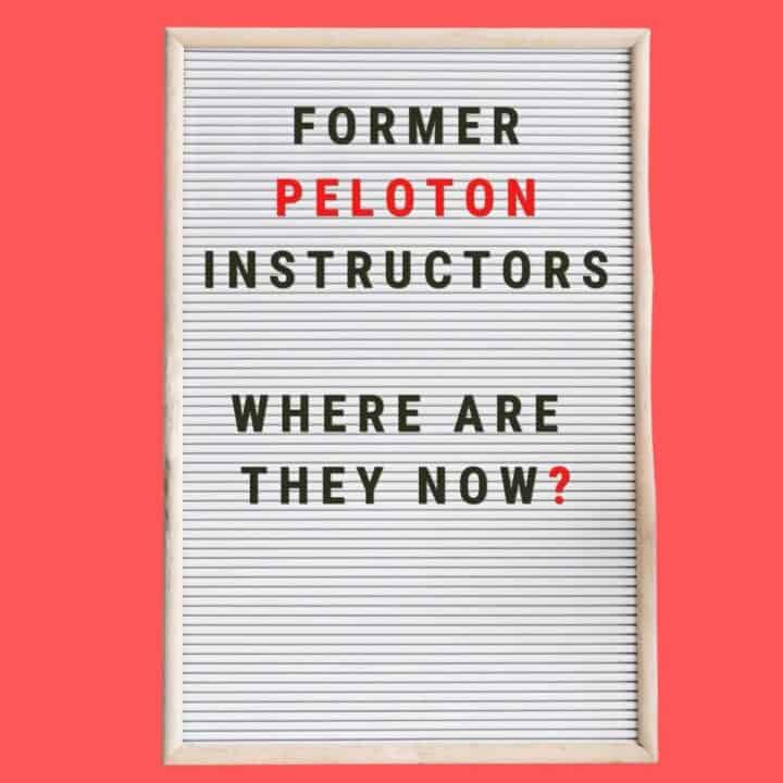 Former Peloton Instructors: Where are they now?